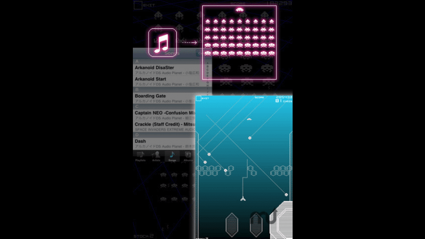Space Invaders Infinity Gene for Mac - review, screenshots