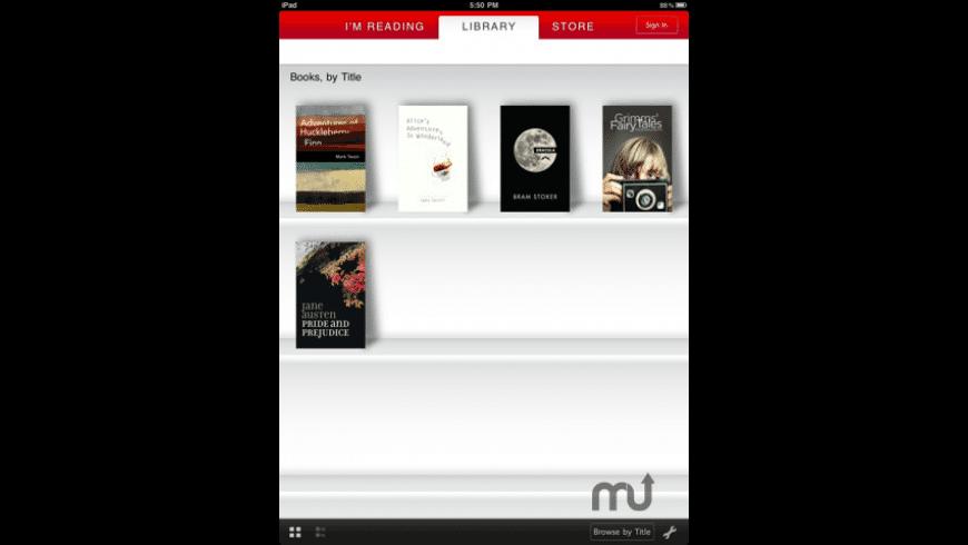 Borders eBooks for Mac - review, screenshots