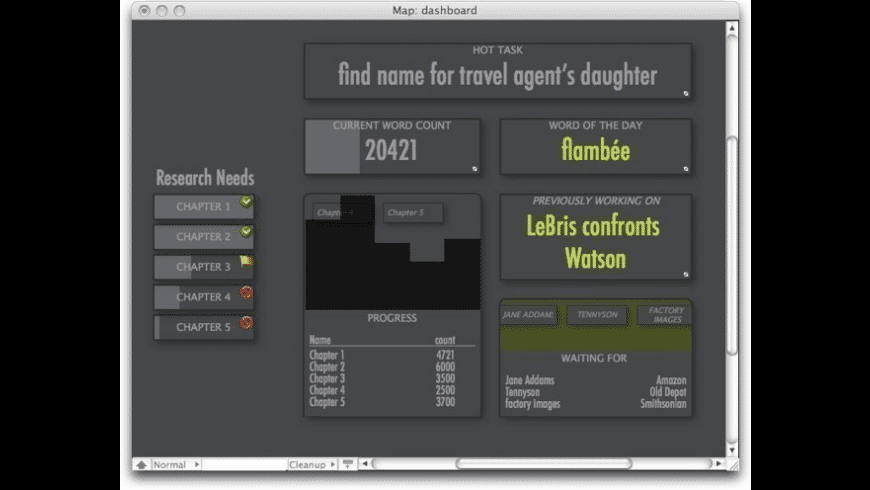Tinderbox for Mac - review, screenshots