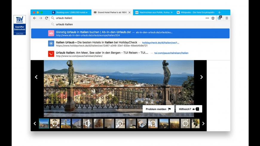 CLIQZ for Mac - review, screenshots