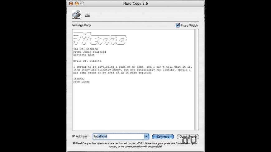 Hard Copy for Mac - review, screenshots
