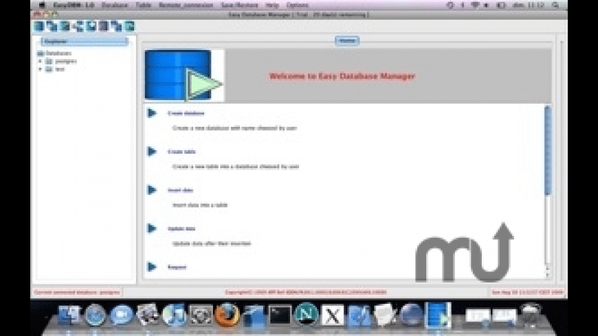 Easy Database Manager for Mac - review, screenshots
