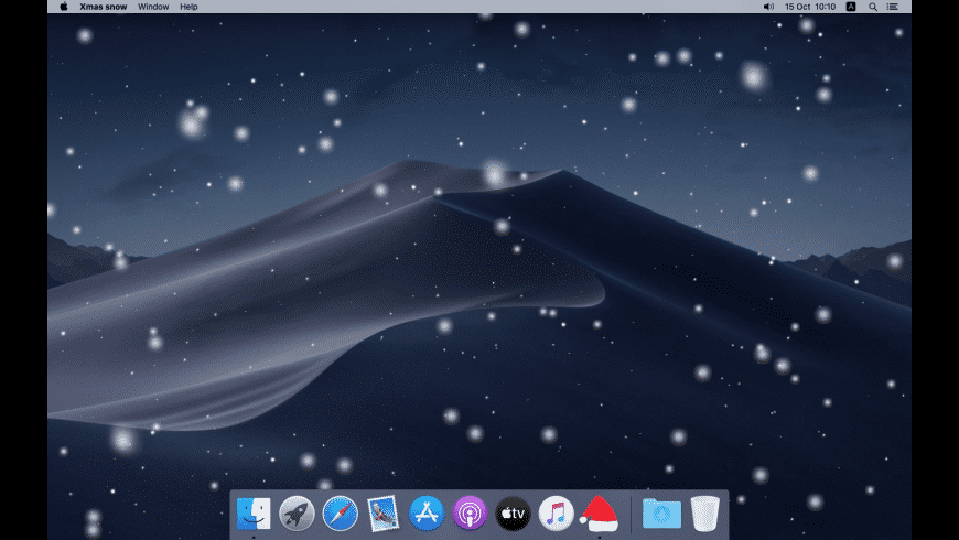 Xmas snow for Mac - review, screenshots