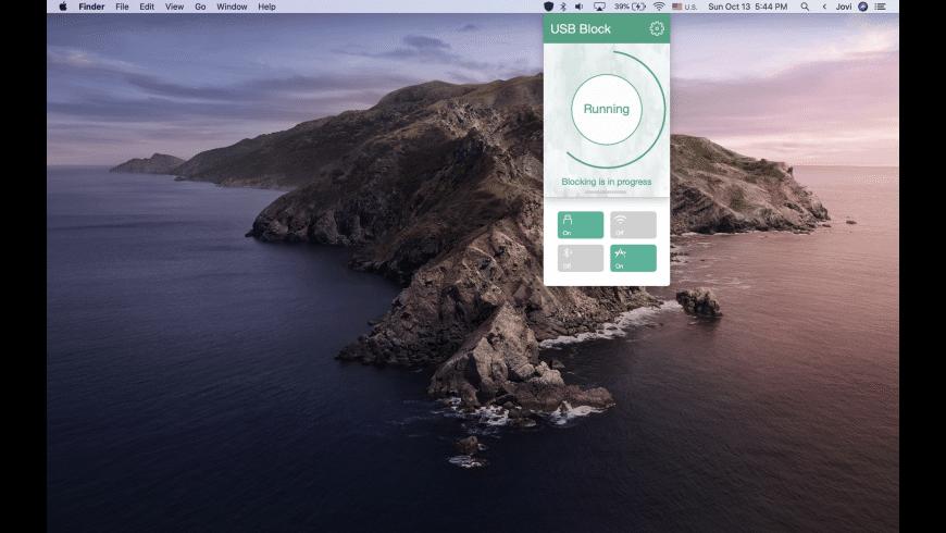 USB Block for Mac - review, screenshots