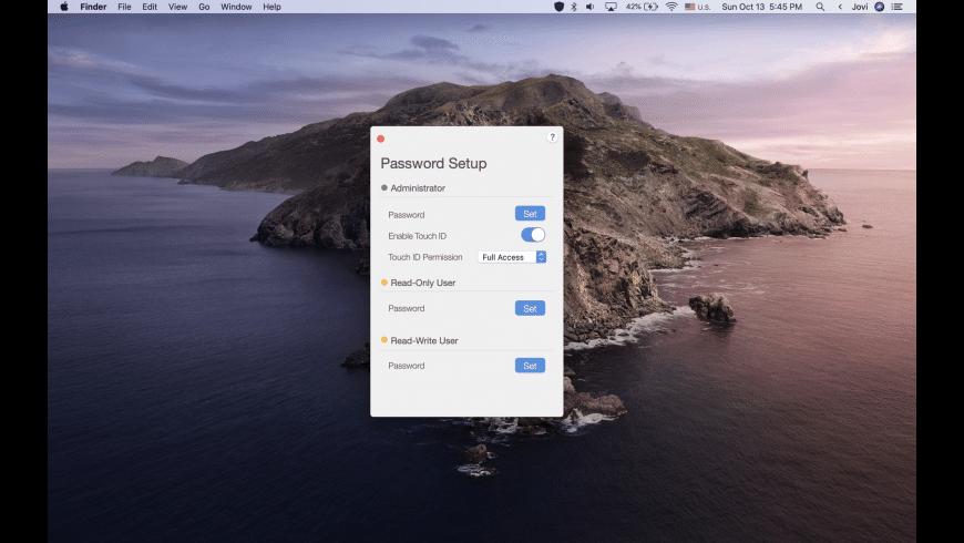 USB Block for Mac - review, screenshots