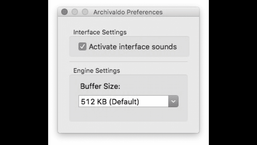Archivaldo for Mac - review, screenshots