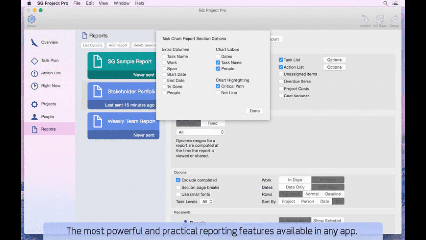 SG Project Pro for Mac - review, screenshots