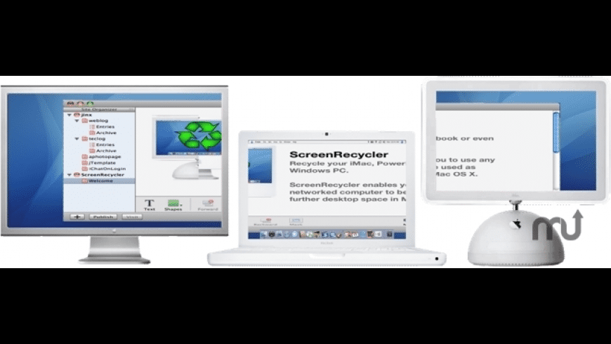 ScreenRecycler for Mac - review, screenshots