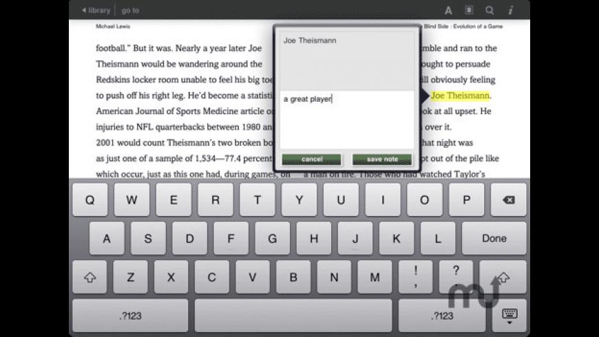 Barnes & Noble eReader for Mac - review, screenshots
