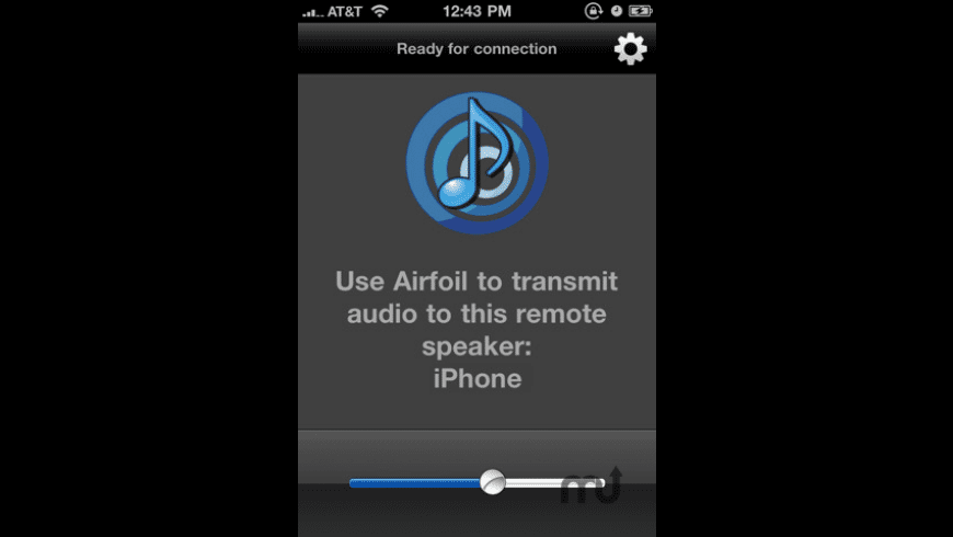 Airfoil Speakers Touch for Mac - review, screenshots