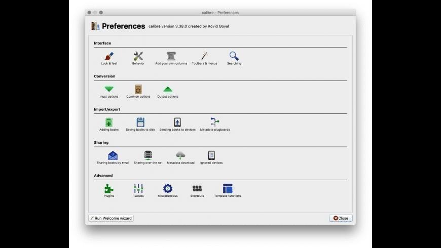 calibre for Mac - review, screenshots