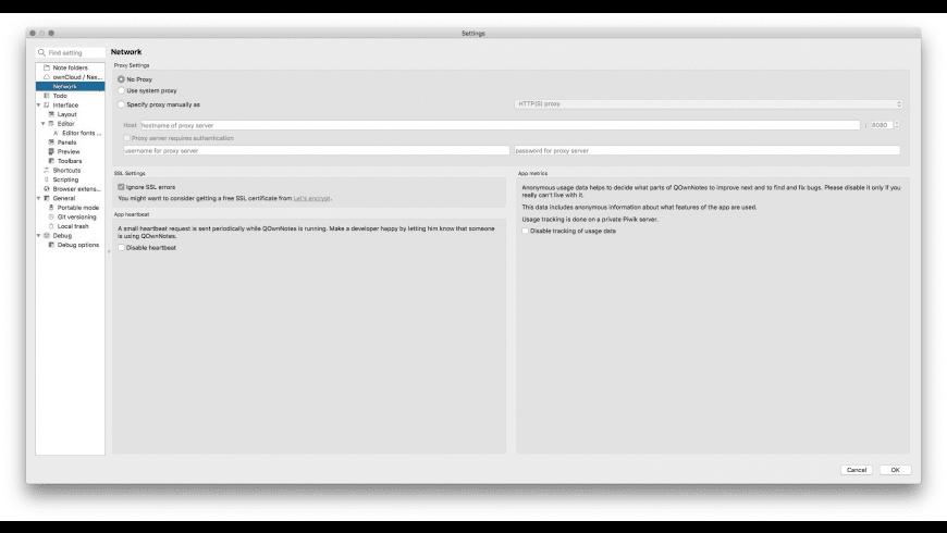 QOwnNotes for Mac - review, screenshots