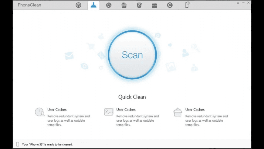 PhoneClean for Mac - review, screenshots