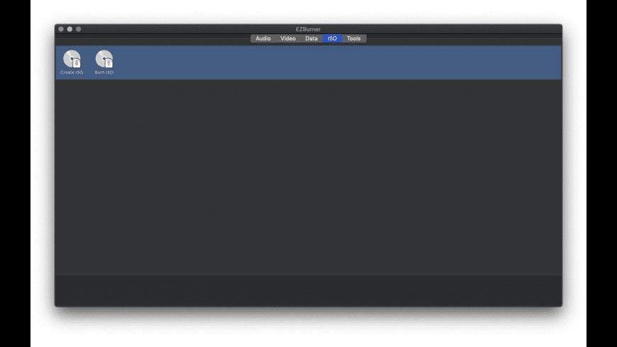 EZBurner for Mac - review, screenshots
