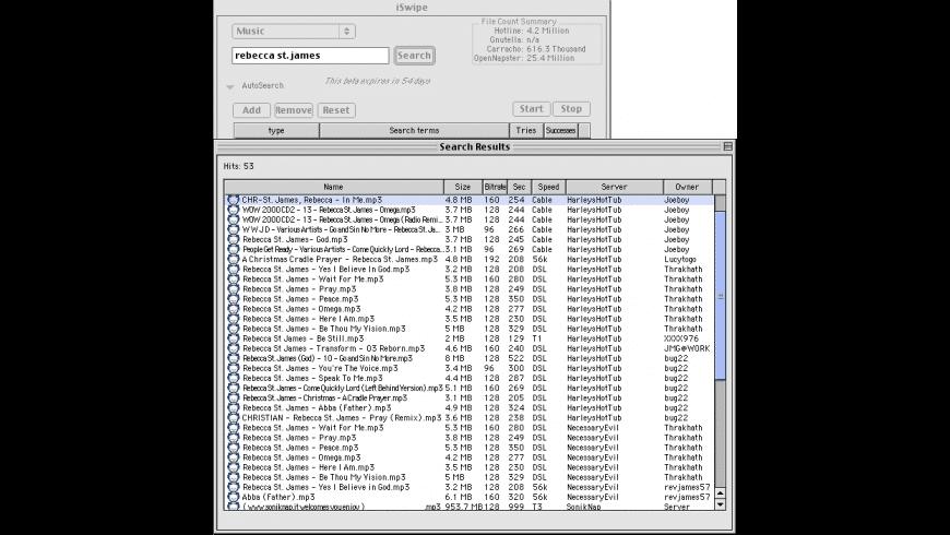 iSwipe for Mac - review, screenshots