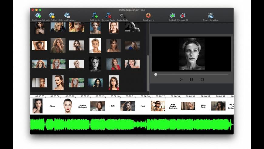 Photo Slide Show Time for Mac - review, screenshots