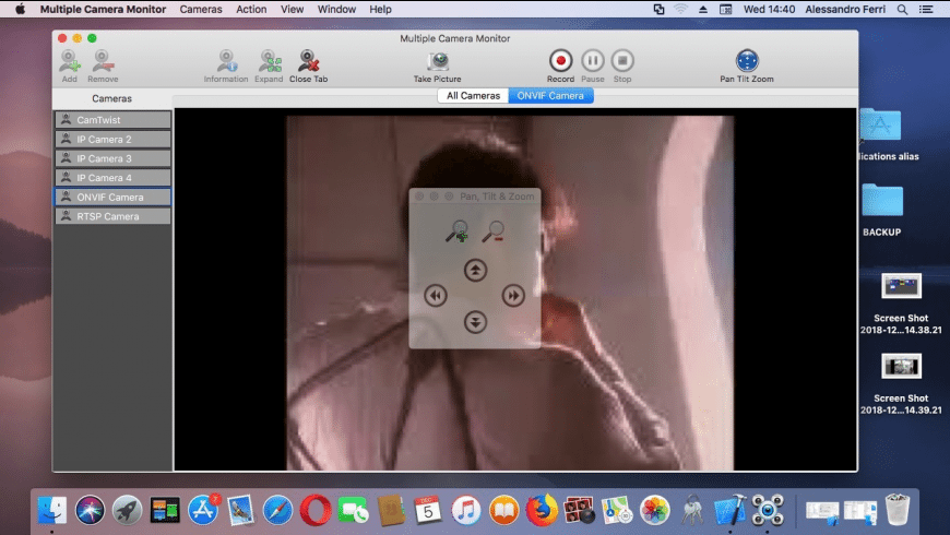 Multiple Camera Monitor for Mac - review, screenshots