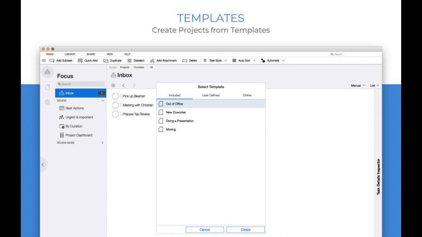 Organize:Me for Mac - review, screenshots