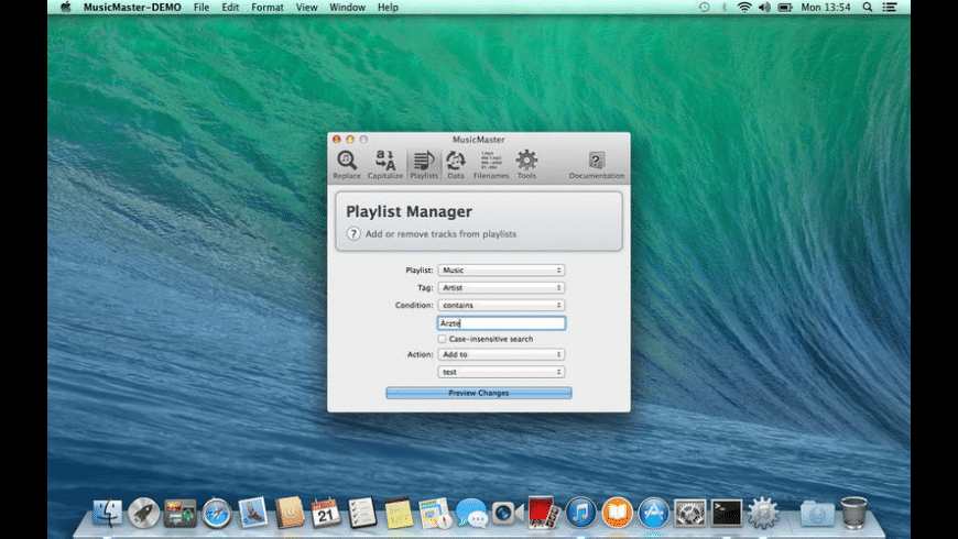 MusicMaster for Mac - review, screenshots