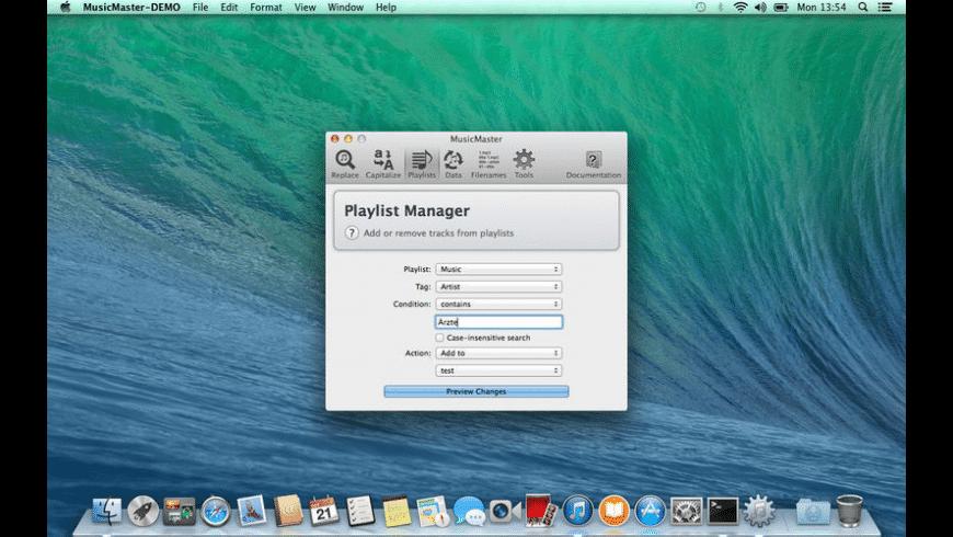 MusicMaster for Mac - review, screenshots