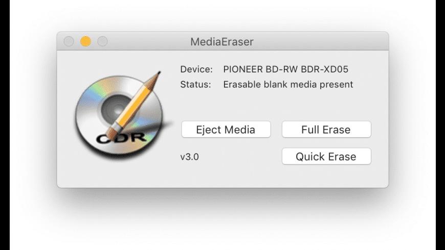 MediaEraser for Mac - review, screenshots