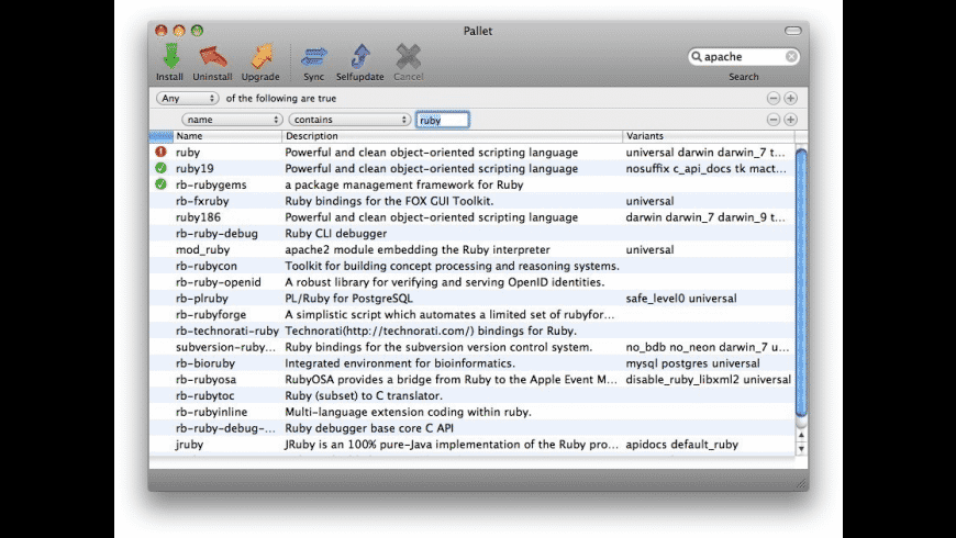 MacPorts for Mac - review, screenshots