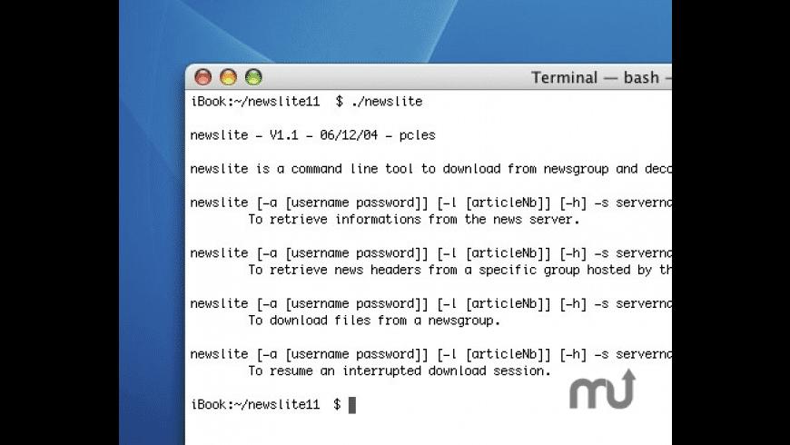 newslite for Mac - review, screenshots