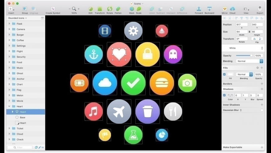 Sketch for Mac - review, screenshots