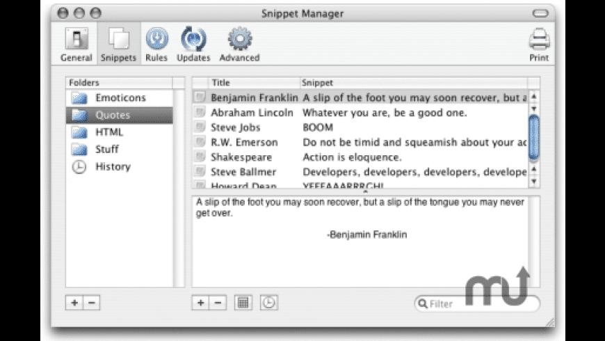 iSnip for Mac - review, screenshots