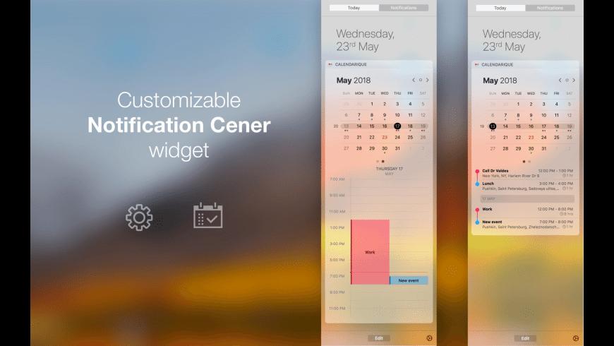 Calendarique for Mac - review, screenshots
