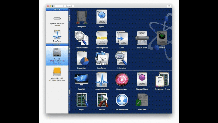 Drive Genius for Mac - review, screenshots