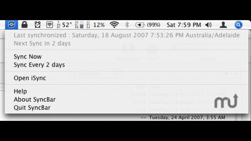 SyncBar for Mac - review, screenshots