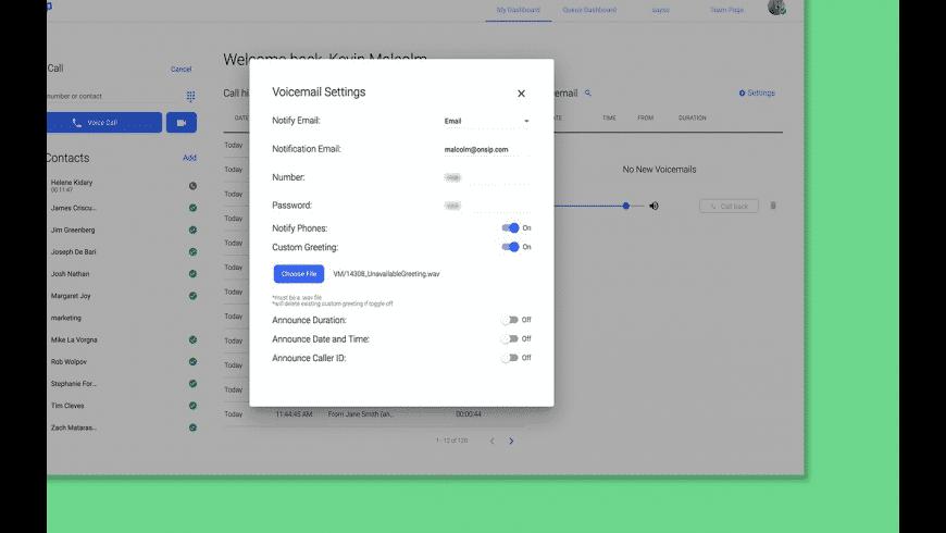 OnSIP for Mac - review, screenshots