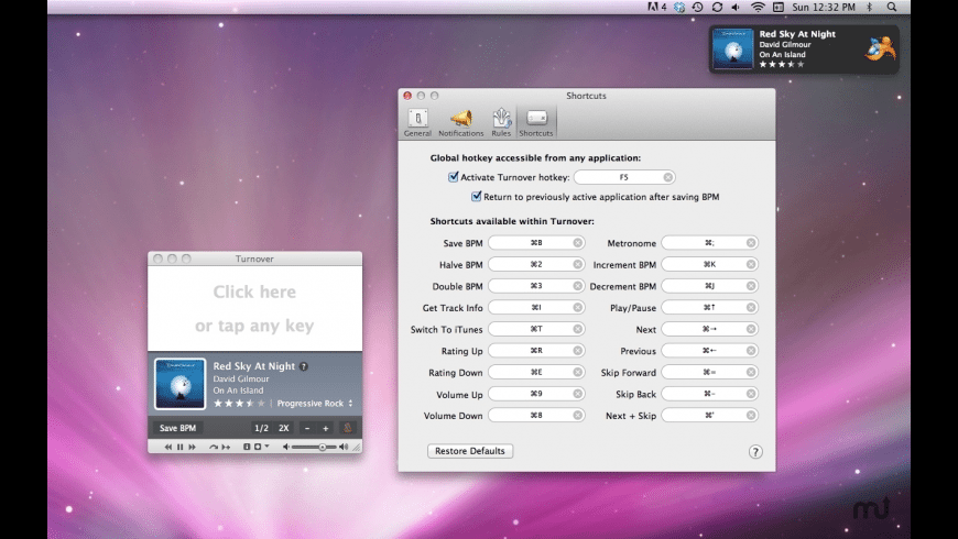 Turnover for Mac - review, screenshots