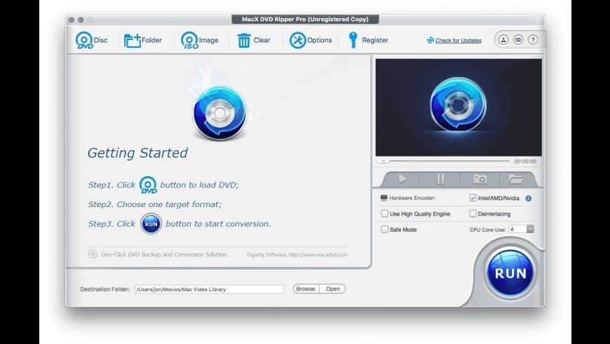MacX DVD Ripper Pro for Mac - review, screenshots