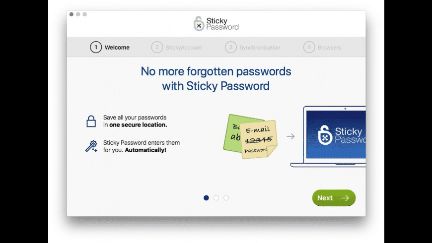 Sticky Password for Mac - review, screenshots