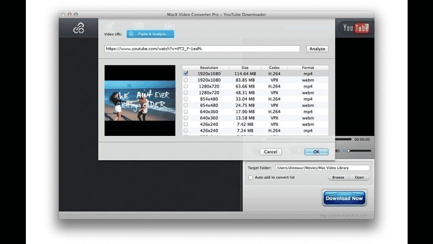 MacX Video Converter Pro for Mac - review, screenshots
