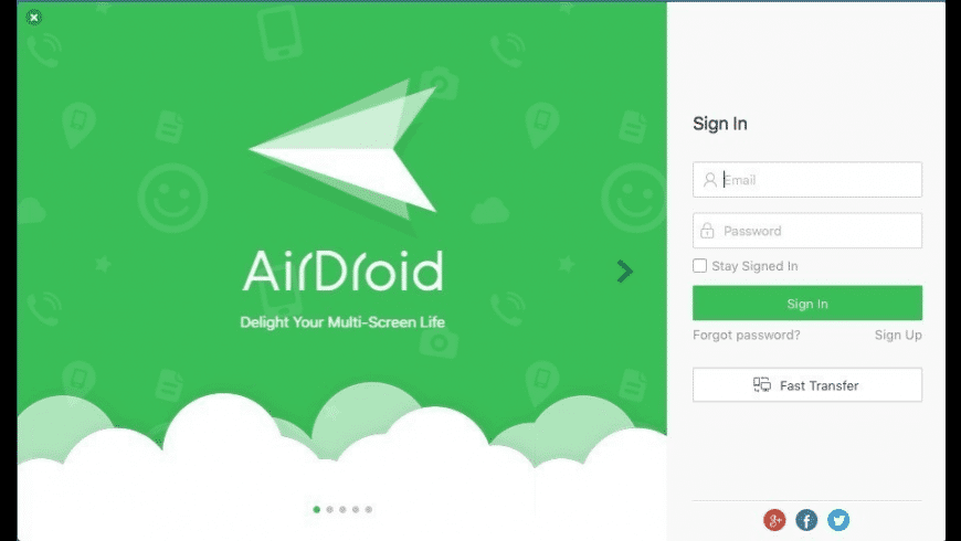 AirDroid for Mac - review, screenshots