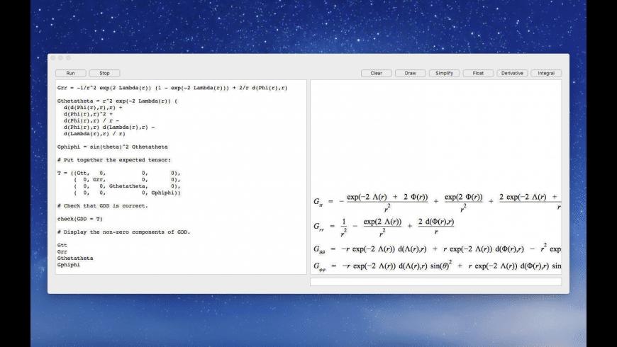Eigenmath for Mac - review, screenshots