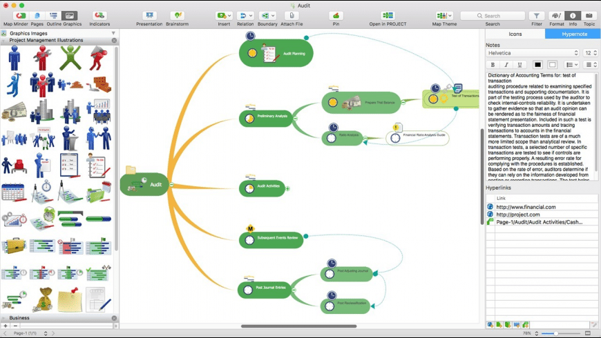 ConceptDraw MINDMAP for Mac - review, screenshots