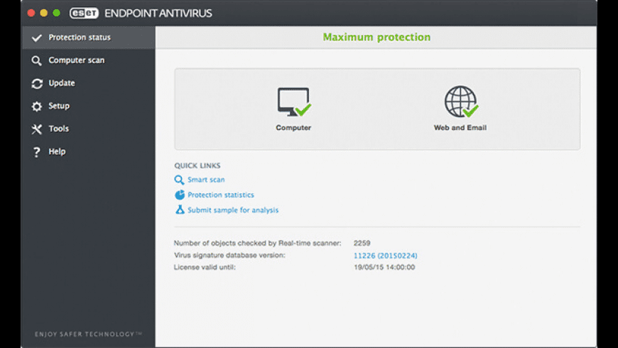 ESET Endpoint Antivirus for Mac - review, screenshots