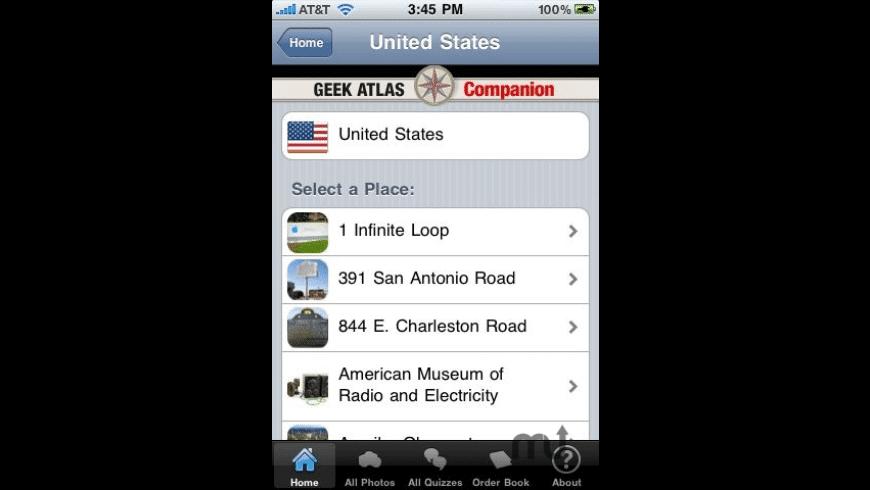 The Geek Atlas Companion for Mac - review, screenshots