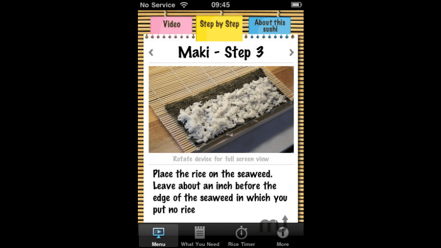 Teach Me Sushi for Mac - review, screenshots