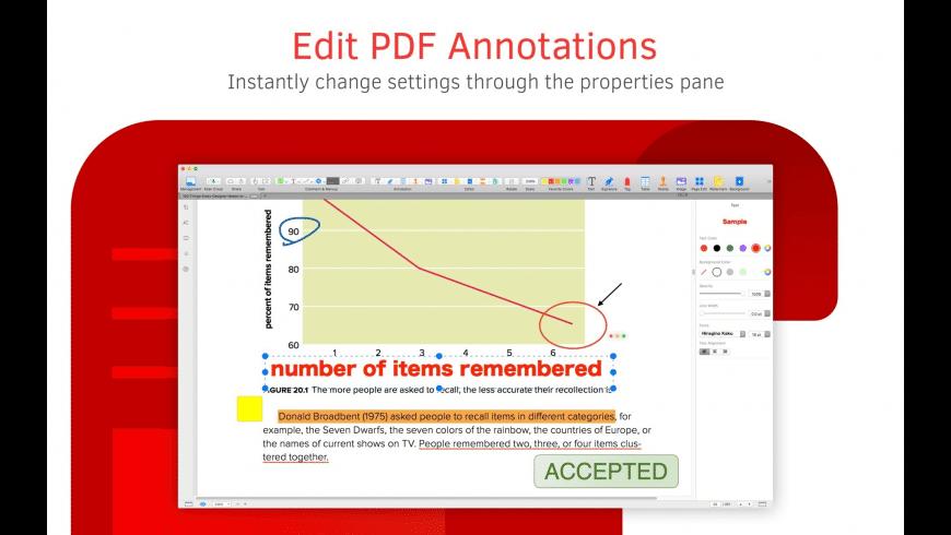 PDF Reader for Mac - review, screenshots