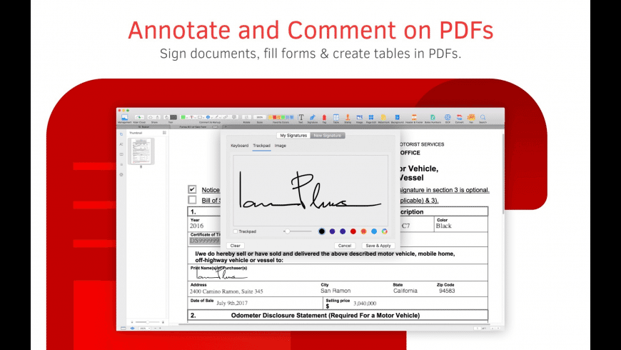 PDF Reader for Mac - review, screenshots