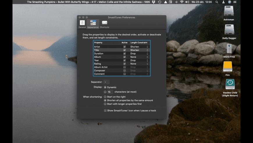 SmashTunes for Mac - review, screenshots