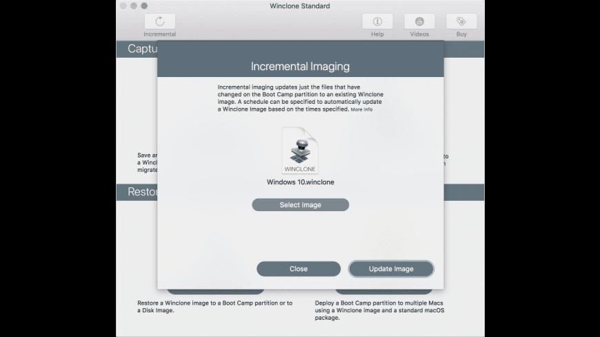 Winclone for Mac - review, screenshots