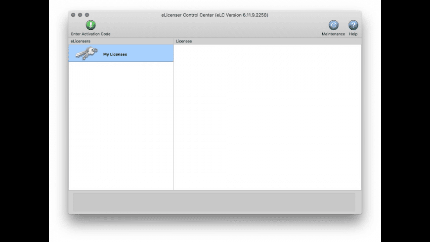 eLicenser Control Center for Mac - review, screenshots