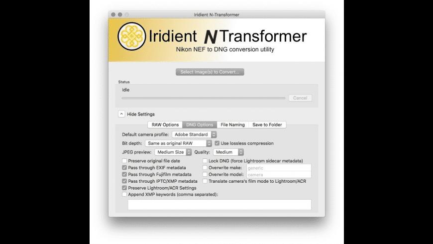 Iridient N-Transformer for Mac - review, screenshots