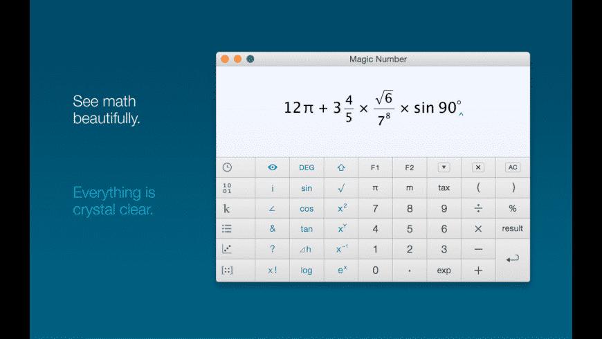 Magic Number for Mac - review, screenshots